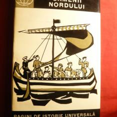 F.Lorint -Oamenii Nordului - Vikingii -Ed. Stiintifica ,1965 , harta