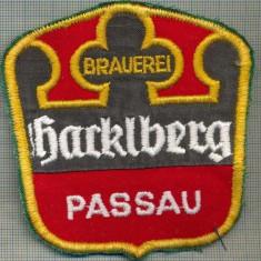 167 -EMBLEMA - BRAUEREI -BARKLBERG PASSAU-PRODUCATOR DE BERE-starea care se vede
