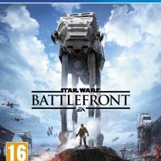 Star Wars Battlefront PS4 TRANSPORT GRATUIT, 1-2 players, si online multiplayers - Jocuri PS4, Actiune, Toate varstele