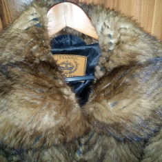 Haina de blana naturala NURCA, Superba ! Marime XL 86 cm lungime