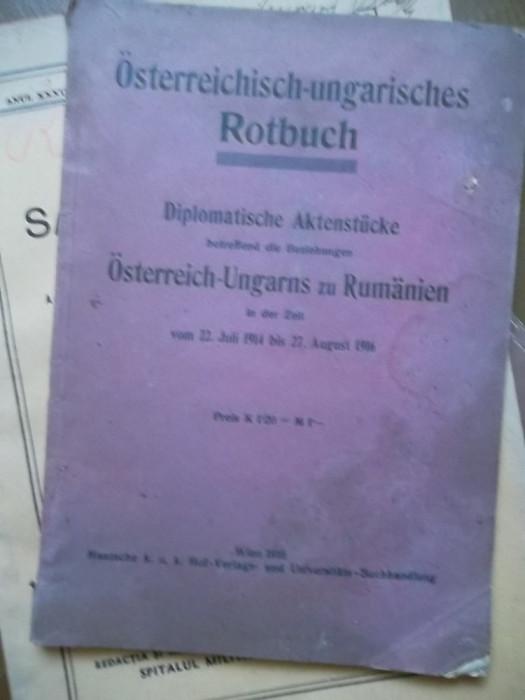 REVISTA ROTBUCH[GERMANA]1916 foto mare