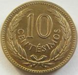 Moneda 10 Centesimos - URUGUAY, anul 1953 *cod 2559 xF, America Centrala si de Sud