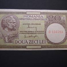 20 lei 1947 - 1948 - 1950 (1947 august 15) #F/1 - Bancnota romaneasca