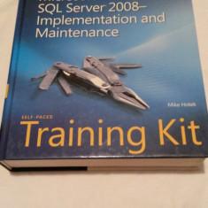 Microsoft SQL Server 2008 Implementation - Mike Hotek - Carte baze de date