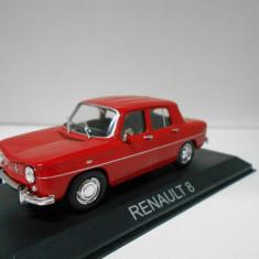Macheta Renault 8 - MASINI DE LEGENDA Bulgaria scara 1:43 - Macheta auto