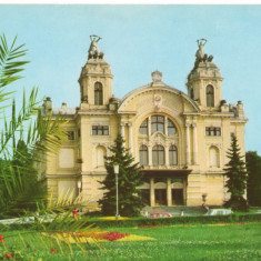 CPI (B6595) CARTE POSTALA - CLUJ-NAPOCA, TEATRUL NATIONAL - Carte Postala Transilvania dupa 1918, Necirculata, Fotografie