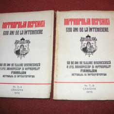 Mitropolia Olteniei - 600 ani de la intemeiere (nr. 5-6 si nr. 7-8) - 2 volume