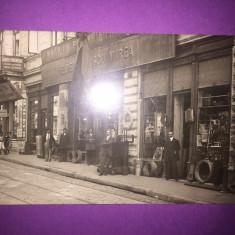 Bucuresti - Magazine - Rara!!! - Carte Postala Muntenia 1904-1918, Circulata, Fotografie