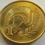 Moneda 1 Cent - CIPRU, anul 1998 *cod 2593 UNC, Europa