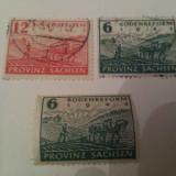 Germania Saxonia 1945 serie stampilata++ cota ridicata