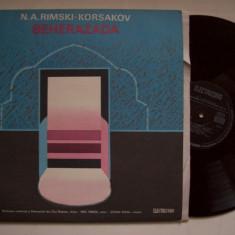 Disc vinil N.A. RIMSKI - KORSAKOV - Seherezada, suita simfonica (ST - ECE 01241) - Muzica Clasica electrecord