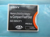 Cumpara ieftin ADAPTOR CF SONY MEMORY STICK DUO ADAPTOR FOR COMPACT FLASH SLOT SONY AD-MSCF1