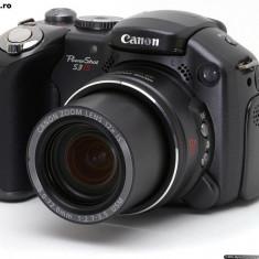 Aparat foto digital, Canon S3IS, 6MP, ecran LCD rabatabil, Stare PERFECTA, Compact, 12x, Sub 2.4 inch