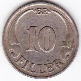1) Ungaria 10 FILLER 1938, Europa