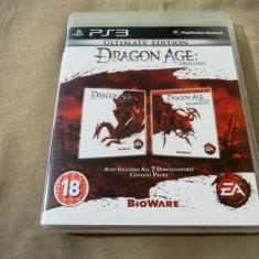 Joc Dragon age origins ultimate Edition, PS3, original, alte sute de jocuri!, Role playing, 18+, Single player, Electronic Arts