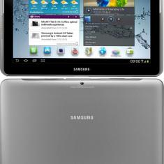 SAMSUNG GALAXY TAB 2 10.1 P5100 + husa protectie piele tip stativ - Tableta Samsung Galaxy Tab P5100, 16 GB, Wi-Fi + 3G