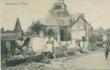 WW1 CATEDRALA DIN ROYE DUPA BOMBARDAMENTUL ARMATEI GERMANE, Germania, Circulata, Printata