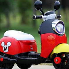 Motocicleta scooter electrica MICKEY MOUSE - Masinuta electrica copii