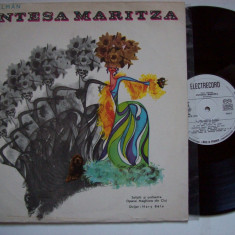 Disc vinil IMRE KALMAN - Contesa Maritza (selectiuni)(STM - ECE 0865) - Muzica Opera electrecord