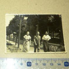 Fotografie veche - cluj, 1935 - tineri, plimbare - 2+1 gratis - RBK11194