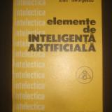 IOAN GEORGESCU - ELEMENTE DE INTELIGENTA ARTIFICIALA
