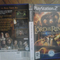The Lord of the rings - The third age - JOC PS2 Playstation (GameLand) - Jocuri PS2, Actiune, 16+, Single player