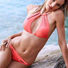 Victoria's Secret Costum de baie S victoria victorias, Marime: S, Culoare: Piersica, Doua piese, Bikini