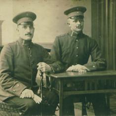 WW1 DOI OFITERI GERMANI DE PE FRONTUL DE VEST