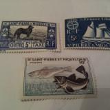 Franta/colonii/st.pierre si miquelon 1942/57 MH, Nestampilat
