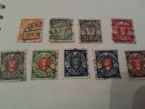 germania/danzig polonia/1924 serie stampilata 25 euro