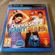 Joc Move Dance Star Party Hits, PS3, original, alte sute de jocuri! - Jocuri PS3 Sony, Simulatoare, 12+, Multiplayer