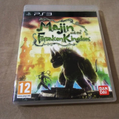 Joc Majin and The Forsaken Kingdom, PS3, original, 69.99 lei! - Jocuri PS3 Namco Bandai Games, Role playing, 12+, Single player