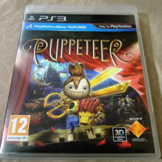 Joc Move Puppeteer, PS3, original, alte sute de jocuri! - Jocuri PS3 Sony, Actiune, 12+, Single player