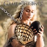 Pandantiv / Colier / Lantisor - GAME OF THRONES - Dragon Egg