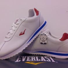 Adidas original Everlast piele naturala. Curier gratuit - Adidasi barbati Everlast, Marime: 42, 45, Culoare: Alb