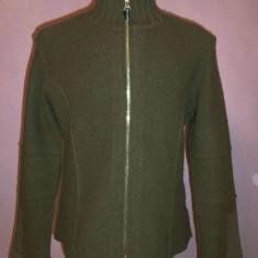 Bluza khaki Bogner 100% originala - Bluza barbati, Marime: S/M, Cu fermoar, Bumbac