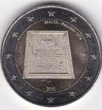 Malta 2 euro 2015 comemorativa UNC, Europa