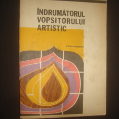 V. CONSTANTINESCU - INDRUMATORUL VOPSITORULUI ARTISTIC - Carte amenajari interioare