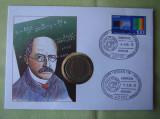 GERMANIA - FDC si Moneda 2 Mark 1957 - 1994