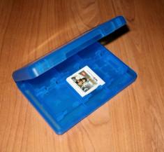 Nintendo 3DS / DS - Cutie depozitare jocuri si carduri culoare albastra foto