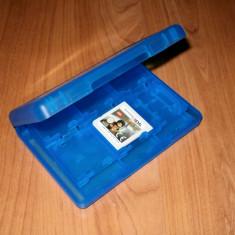 Nintendo 3DS / DS - Cutie depozitare jocuri si carduri culoare albastra
