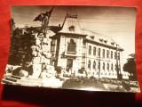 Ilustrata Targu Jiu -Monument T.Vladimirescu ,circulat 1966, Circulata, Fotografie