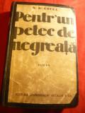 N.D.Cocea -Pentr-un petec de negreaţă -Prima Editie 1934 Ed.Universala Alcalay