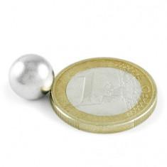 Magnet neodim sfera, diametru 10 mm, putere 1,5 kg