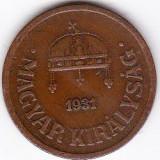 2) Ungaria 2 FILLER 1931 ceva mai RAR, Europa