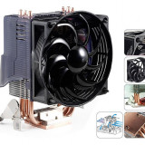 Cooler procesor AMD OverClocker Edition heat pipes FM1 FM2 939 AM2 Am3 Am3+ - Cooler PC Cooler Master, Pentru procesoare