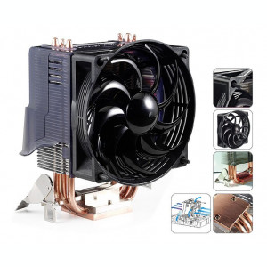 Cooler procesor AMD OverClocker Edition  heat pipes FM1 FM2 939 AM2 Am3 Am3+