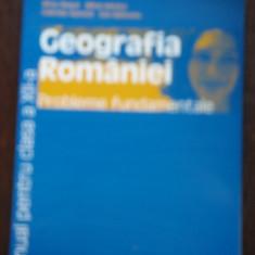 MANUAL GEOGRAFIA ROMANIEI CLS.XII-A - SILVIU NEGUT - Manual scolar humanitas, Clasa 12, Humanitas, Geografie