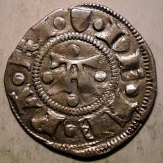 G.299 ITALIA FERRARA NICOLO III D'ESTE 1393 1441 GROS MARCHESANO GROSSO ARGINT - Moneda Medievala, Europa