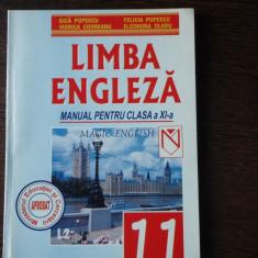 MANUALLIMBA ENGLEZA CLS. XI-A - GICA POPESCU - Manual scolar niculescu, Clasa 11, Niculescu, Limbi straine